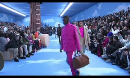 AP: Tyga, Diplo, Migos, Kris Wu, Bella Hadid sit front row at Louis Vuitton men's show