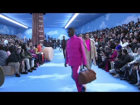 AP: Tyga, Diplo, Migos, Kris Wu, Bella Hadid sit front row at Louis Vuitton men's show