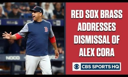 """Press Conference: Red Sox address """"mutually parting ways"""" with manager Alex Cora 