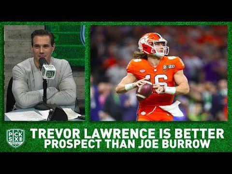 Trevor Lawrence remains BETTER pro prospect than Joe Burrow despite title game performances