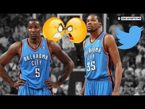Kevin Durant LOVES Twitter feuds, Kendrick Perkins calls Westbrook Mr. Thunder   CBS Sports HQ