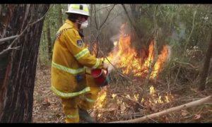AP: Volunteer firefighters ward off Australia's blazes