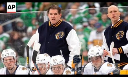 AP: Predators make midseason coaching change