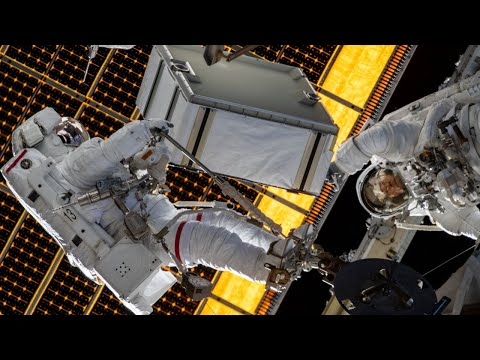 NASA Astronauts Spacewalk Outside the International Space Station on Jan. 20, 2020