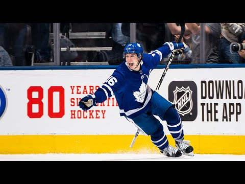Mitchell Marner, Tyson Barrie help Leafs net three in 59 seconds