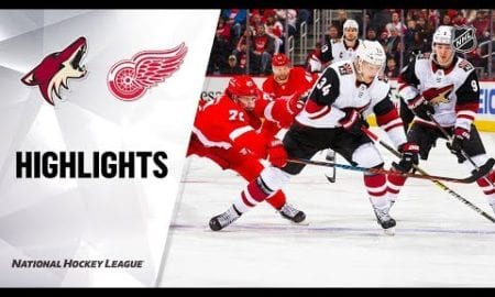 NHL Highlights | Coyotes @ Red Wings