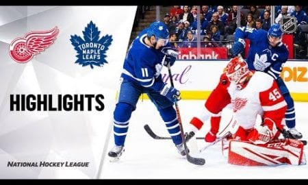 NHL Highlights | Red Wings @ Maple Leafs 12/21/19