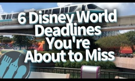 6 Disney World Deadlines You're About to Miss!