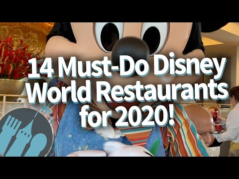 14 Must-Do Disney World Restaurants for 2020!