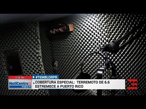 AP: Puerto Rico earthquake caught on camera