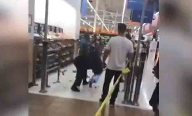 Officer Seen On Video Using 'Take-Down' On Woman In Walmart
